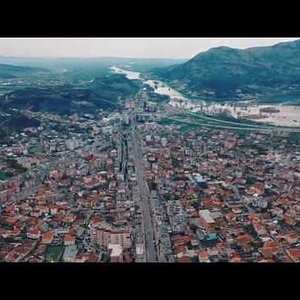 Shkodra by drone 4K (Day 0 of quarantine - COVID - 19. 14/03/2020)